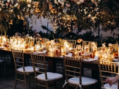 BEAUTIFUL BOTANICAL GARDEN WEDDING