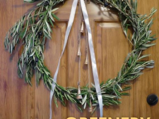 DIY PROJECT: Greenery Wreath